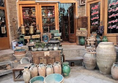 A corner of Isfahan Bazzar