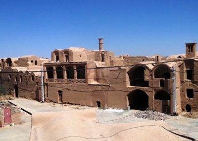 Deserted village near Isfahan