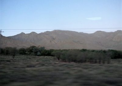 Landscape between Tehran and Shiraz