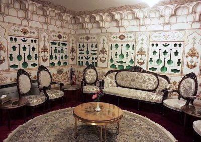 Sitting room in Abassi Hotel Isfahan