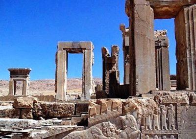 Temple complex at Persepolis
