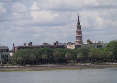 Charleston, SC, from the harbour
