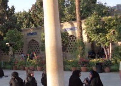 Chador-clad women, Iran