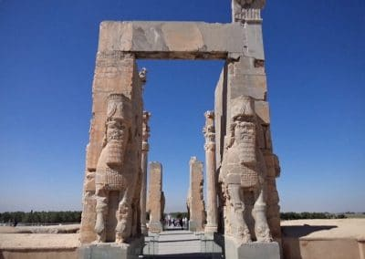 A gateway at Persepolis