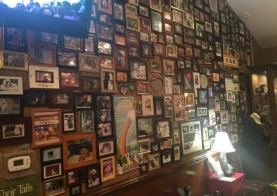 Memorial wall at the Dead Dog Saloon, Murrells Inlet, Myrtle Beach, SC
